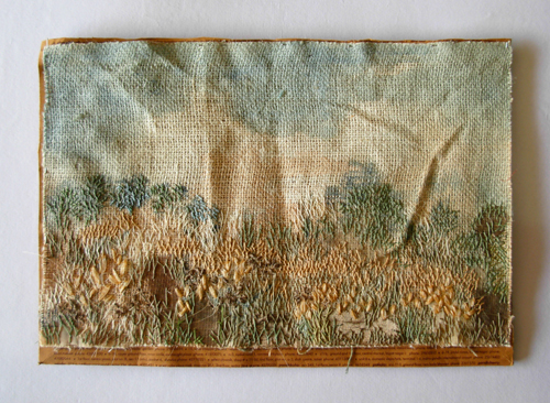 Landscape in Jute by Sunrita Basu