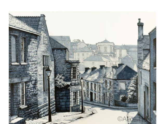 """Church Street Helston"" by Alice Hole"