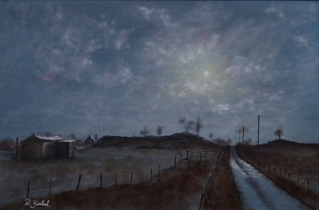 """Moonlight in Longriggend"" by Dale Blissland"