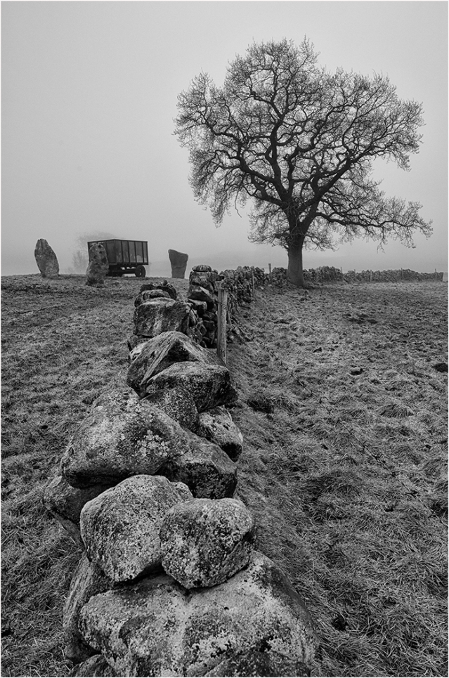"""Peak District Monochrome"" By Roy Carr"