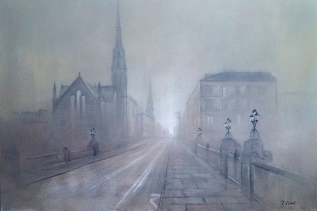 """Glasgow Ghost Town"" by Dale Bissland"