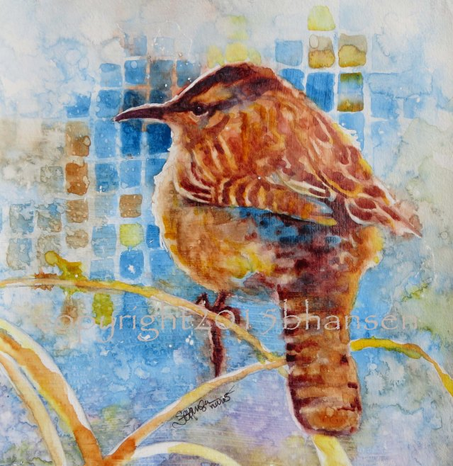 """Arizona Cactus Wren"" by Sarah B Hansen"
