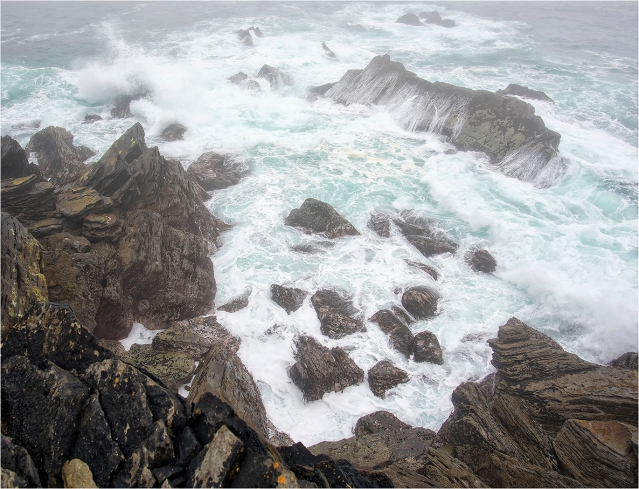 """Stormy Sea, Dingle Peninsula"" by Roy Carr"