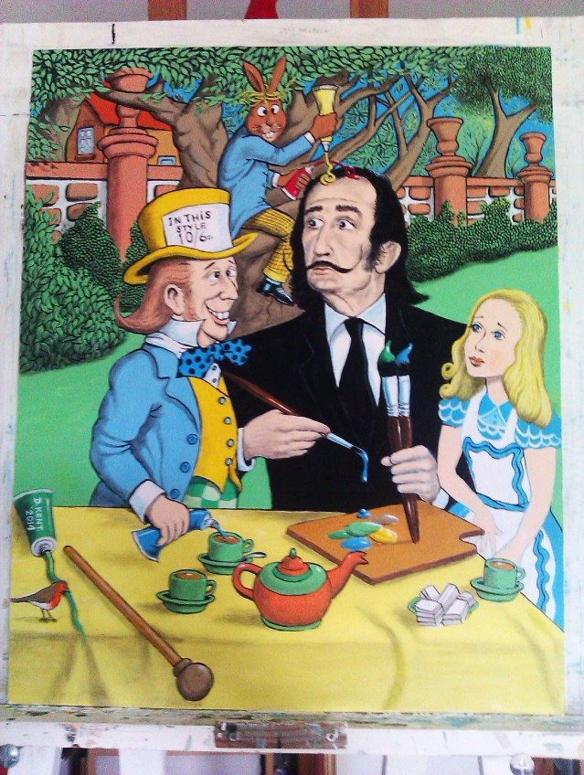 """Dali in Wonderland"" by David Kent"